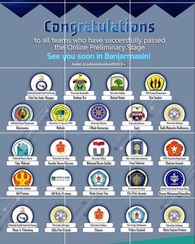 Pekan Ilmiah Akuntansi Yang Diselenggarakan ULM (Universitas Lambung Mangkurat) Banjarmasin Tahun 2018