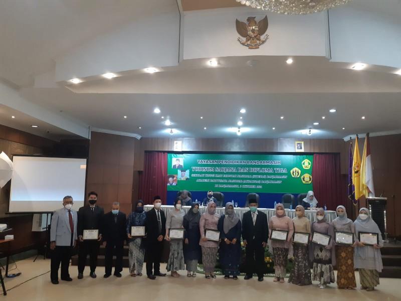 Yudisium Sarjana STIE Nasional Banjarmasin Semester Genap Tahun 2020/2021