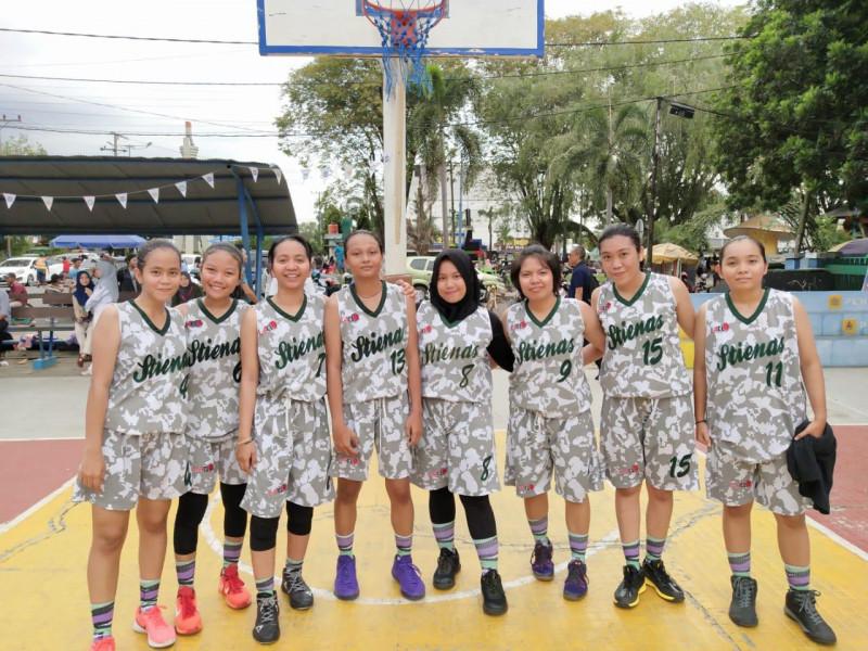 Basket Putri STIENAS Juara 1 Dekan Cup XVI 2019