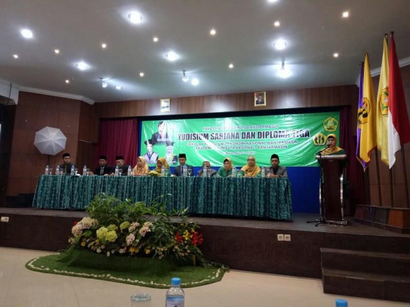 Yudisium semester Ganjil STIE Nasional Banjarmasin