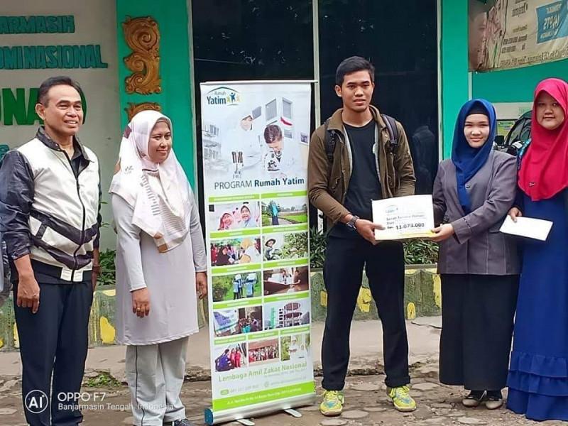 Mahasiswa STIENAS Menggalang Dana untuk Korban Tsunami & Gempa di PALU