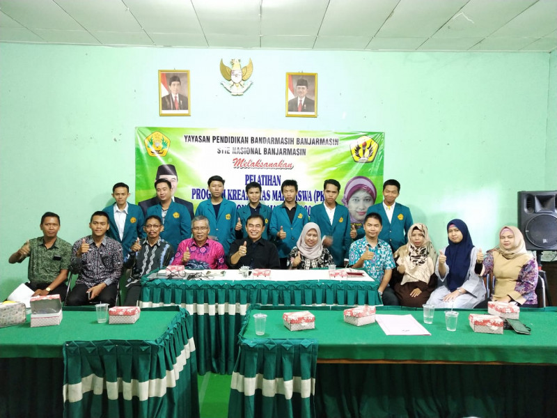 Pelatihan Program Kreativitas Mahasiswa (PKM) 2018