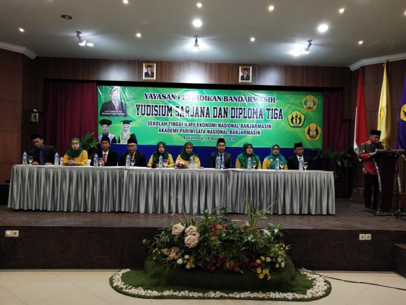 Yudisium Sarjana STIE Nasional Banjarmasin