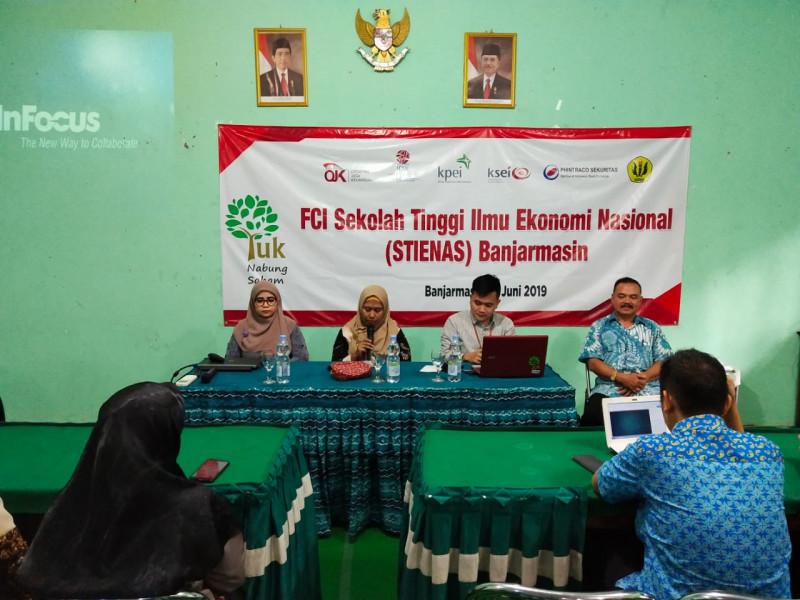 Forum Calon Investor STIENAS Banjarmasin