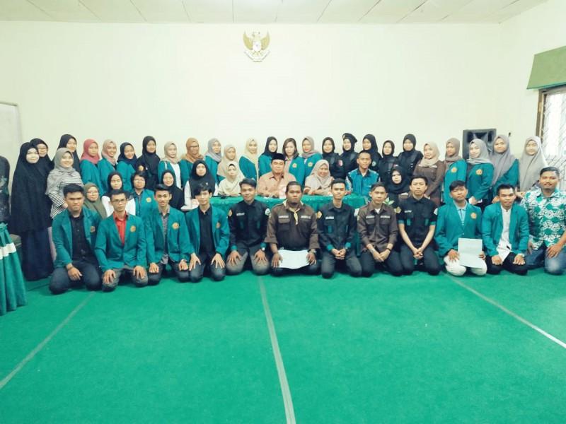 Pelantikan pengurus UKM (Unit Kegiatan Mahasiswa) STIE Nasional Banjarmasin