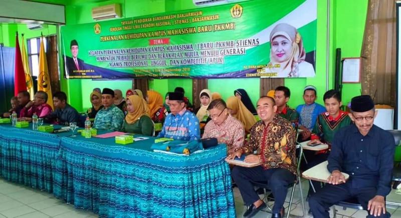 PKKMB Mahasiswa Baru Tahun 2018 di Kampus STIENAS Banjarmasin